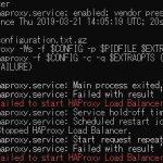 Haproxyが起動できないときの解決策