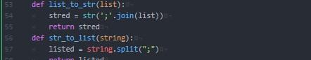 Pythonでstrとlistを相互変換してみた